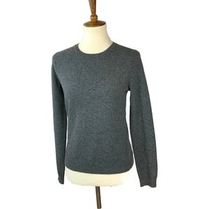 Saks Fifth Avenue Cashmere Sweater Size Small Gray